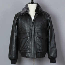 8fcb0bc9a Avirex leAther online shopping - Avirex fly Motorcycle Jacket Men Flight  Genuine Leather Jacket Black Cowskin