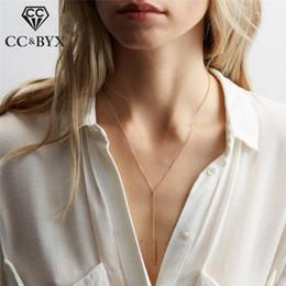 Necklaces Pendants Australia - CC 925 Silver Necklaces Pendants For Women Simple Deaign Choker Necklace Link Chain Fine Jewelry Minimalism Colar CCN312