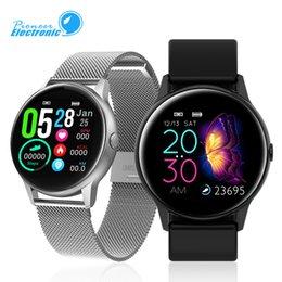Pedometer heart bluetooth online shopping - DT88 Smartwatch Bracelet Band IP68 Sport Pedometer Tracker Heart Rate Altitude Bluetooth Smart Watch for Android Smart Phone