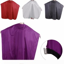 hair cutting cape hairdressing Canada - 1PC Pro Adult Waterproof Salon Hair Cut Hairdressing Barbers Cape Gown Cloth