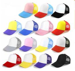 98ec6a64fe6 Kids Trucker Cap Adult Mesh Caps Blank Trucker Hats Snapback Hats kid Size  52-55cm Adult Size 56-60cm Acept Custom Made Logo MOQ 100 pcs
