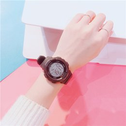 $enCountryForm.capitalKeyWord Australia - New Popular Casual Women Designer Watches wholesale Wrist Watches Ladies Dress Watch LED Digital silicone watch band Relogio Feminine