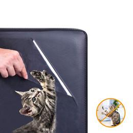 Ingrosso Protezioni per mobili da 5 pacchi da gatti, protezioni per divani per animali domestici, protezioni per artigli per cani gatti pastiglie autoadesive + perni girevoli, artigli per cani gatti