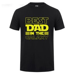 $enCountryForm.capitalKeyWord UK - Best Dad In The Galaxy T-Shirt Funny Fathers Day Present Birthday Gifts For Dad Father Men Husband Summer Cotton T Shirt Tshirt