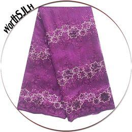 $enCountryForm.capitalKeyWord Australia - New Magenta Nigerian Lace Fabrics Multi Colored Africa Latest Lace Fabric Peach African Net Tulle Lace Fabric For Wedding Dress