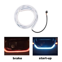 $enCountryForm.capitalKeyWord Australia - Newest 1.2M Car Tail Lamp Strip Decorative Lamp Horse Race Rear Box Flow Light 335 LED Strip Car-styling Hot Selling