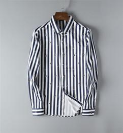 $enCountryForm.capitalKeyWord Australia - Designer guccy mens long sleeved shirt fashion luxury shirt cotton comfortable Tshirts new hot selling classic embroidery top quality tshirt