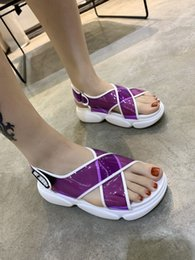 Brand Casual Sandals Australia - Woman High-Quality Slippers Brand Sandals Flat shoe Designer Shoes Slide basketball shoes Casual shoes Flip Flops zh19041902