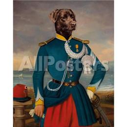 $enCountryForm.capitalKeyWord Australia - Hand painted Thierry Poncelet paintings portraits of Dogs pets Devant la Rade d Alger High quality