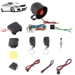 $enCountryForm.capitalKeyWord Australia - Universal One-Way Car Alarm Vehicle System Protection Security System Keyless Entry Siren 2 Remote Control Burglar Car Security