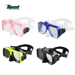 Silicon maSkS online shopping - Diving Mask Glasses Soft Liquid Silicon Scuba Diving Mask with Clear Tempered Glass Top Snorkelling Snorkel Color