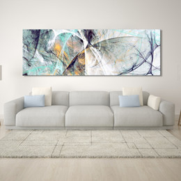 AbstrAct lines Art online shopping - Wall Painting Abstract Art Oil Painting Posters and Prints Wall Art Canvas Creative Line Pictures for Living Room Decor