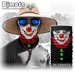 Big nose online shopping - Halloween Mask Scary Clown Half Face Mask Big Mouth Red Beard Nose Cosplay Horror masquerade Ghost Party