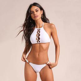 Ms Swimsuits Australia - 2019 Ms. split swimsuit, solid color aura, open swimsuit, sexy swimsuit, wholesale, new European and American bikini swim wear swimming