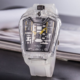 Best Skeleton Watches Men Australia - Best Deal 2019 Fashion Skeleton Watches men or women Skull sport quartz watch gift cool wristwatches free shipping
