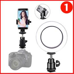 "Universal Degree Rotation 1 4"" Screw Mini Ball Head Thread Base Mini Ball Head with Hot Shoe Adapter for DSLR Camera LED Light Monitor on Sale"