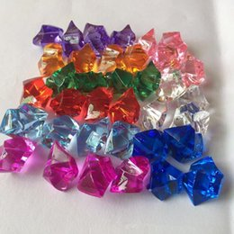 wedding shower party favors UK - Pirate Jewels Treasure Acrylic Crystal Gems Vase Filler Confetti Pirate Props Birthday Party Favors baby shower wedding gifts