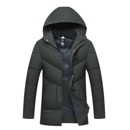 f79b9df8271 High Quality Parka Men Winter Long Jacket Men Thick Cotton-Padded Jacket  Mens Parka Coat Male Fashion Casual Coats
