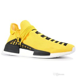 trail running shoes hiking NZ - 2019 Men Women Running Shoes NMD Human Race Pharrell Williams Hu trail NERD XR1 Black Nerd Designer Sneakers Sports Shoes With Box