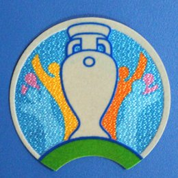 Patches Badges Australia - 2020 EUR Qualifiers patch PLAY WITH HEART RESPECT SOCCER patch Badge