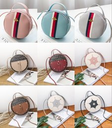 baby girl mini handbag 2019 - 2019 Hot Selling! Girls Ladies Mini Bag with Tassels Pendant Round Bag Fashion Leisure Quilting Bag Girls Casaul PU Hand