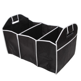Stowing Tidying Interior Accessories Energetic Auto Accessories Car Organizer Trunk Collapsible Toys Food Storage Truck Cargo Container Bags Box Black Car Stowing Tidying Box