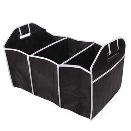 nterior Accesorios Almacenamiento de ropa VODOOL Tronco de coche Plegable Plegable Caja de almacenamiento Auto Coche Trasero Rack Organizador Alimentos Herramientas Camión ...
