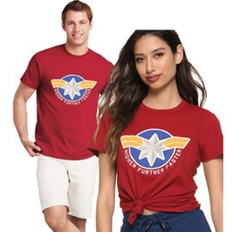 Xs mma shorts online shopping - carol danvers captain marvel america t shirt mma men shirts t shirt Harajuku Funny Tops Short Sleeve Oversize
