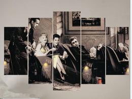 "$enCountryForm.capitalKeyWord UK - LARGE 60""x32"" 5Panels Hollywood star art, Elvis Presley canvas,James Dean wall art,Vintage post, Marilyn Monroe print, James Dean wall art"