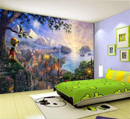 Mural painting wallpaper oil online shopping - custom size d photo wallpaper mural living room fairy tale oil painting d picture sofa TV backdrop wallpaper mural non woven wall sticker
