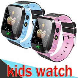 Gift packs for baby online shopping - Smart Watch Q528 Children Wrist LBS Waterproof Baby Watch with Remote Camera SIM Calls Gift for Kids dz09 gt08 M05 EXCT Retail Packs