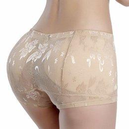 Discount fake butt underwear - Women Enhancer Shaper Panties High Waist Push Up Padded Butt Fake Hip Underwear