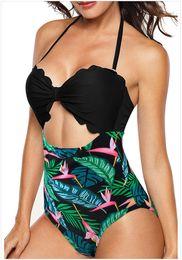 $enCountryForm.capitalKeyWord Australia - 2019 Plus Size Swimwear One Piece Swimsuit ForWomen High Waist Slimming Retro Stylish Hlater Bathing Suits Female Large Swim Wear Bodysuit