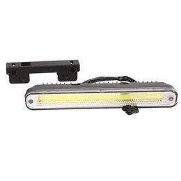 Led car day running online shopping - 2Pcs Car LED Long Strip Daytime Running Light DRL Motor Fog Day Driving Lamp