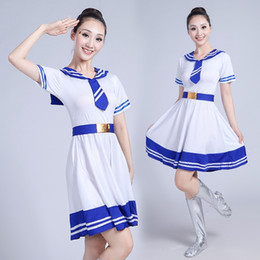 Wholesale women navy uniform costume online – ideas JK School sailor uniform fashion Japanese blue class navy clothes summer Dress Anime Cosplay girls costume