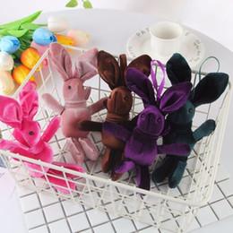 South Korea Velvet Australia - Plush velvet widgets that South Korea bouquets of rabbit rabbit doll eternal vows flower accessories toys accessories wholesale