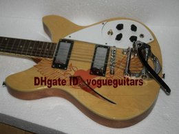 china 12 string electric guitars Australia - Custom Deluxe Model 12 String Electric Guitar In Natural Semi Hollow Best China Guitar