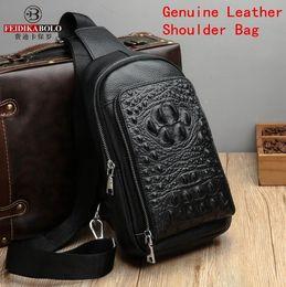 0688f06a1830 Ch Bags Australia - Wholesale brand men handbag exquisite embossed  crocodile pattern men messenger bag business