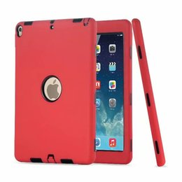 $enCountryForm.capitalKeyWord UK - Combo Robot Design 3 In 1 Hybrid Tablet Case Silicone PC Shockproof Cover For iPad 5 6 Air Air2 Pro 12.9 10.5 9.7 2018 New Mini 1 2 3 10PC