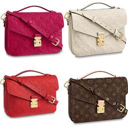 25cm box online shopping - Brand classic cm messenger bag women genuine leather handbag luxury design iconic bag shoulder bags lady casual tote metis4edb