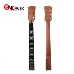 Wholesale 22 Fret Guitar Neck open sattin LP Mahogany Rosewood fingerboard sector and binding Inlay for LP Electric guitar neck replacement