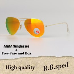 1dcf9fe344 Polarized Sunglasses Men Women Brand designer metal frame pilot sun glasses  Vintage Sport glasses plastic polaroid lens With cases and box