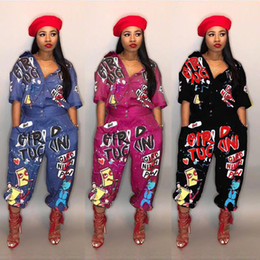 plunge jumpsuit NZ - Sexy Jumpsuits for Women Bell Sleeve Plunge Neck Self Belted Palazzo Jumpsuit Half Sleeve Floral Jumpsuit Rompers Casual Flared Pants