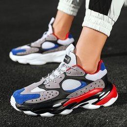 $enCountryForm.capitalKeyWord Australia - Mens Shoes Fashion Sneakers Comfortable Casual Shoes Adulto Male Popular Colorblock canvas Cool Chaussure Homme Leisure