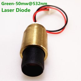Stage Parts Australia - AUCD 1Pcs Green-50mw@532nm 1.8V 400mA Copper Head Laser Model Parts for Z SL Style Mini DJ Projecter Stage Lighting - Laser Diode