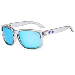 Großhandel 2019 Art und Weise, hochauflösender Qualität Marke Brillen Sonnenbrillen Lässige Outdoor-Sport Radfahren Fahren Sonnenbrillen UV-polarisierte Gläser