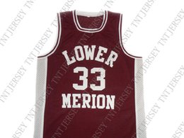 763c014e2e9 wholesale Kobe Bryant  33 Lower Merion High School Basketball Jersey  Stitched Custom any number name MEN WOMEN YOUTH BASKETBALL JERSEYS