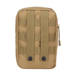Tactical Vest Accessories UK - Portable Outdoor Hunting Bags Tactical Vest Pouch Accessory Tool Waist Bag Molle Utility Pack Medical Military #257931