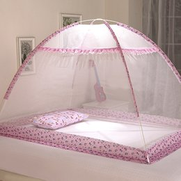 mosquito netting for baby cribs 2019 - 32 Folding Baby Bed Mosquito Nets, Portable Folding Baby Bedding Crib Netting, Mosquito Insect Net Safe Mesh For Girl Bo