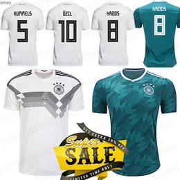 $enCountryForm.capitalKeyWord NZ - Germany OZILs Soccer Jerseys 2018 World Cup Home white Away 8 KROOS 11 WERNER 13 MULLER 7 DRAXLER Football Uniforms